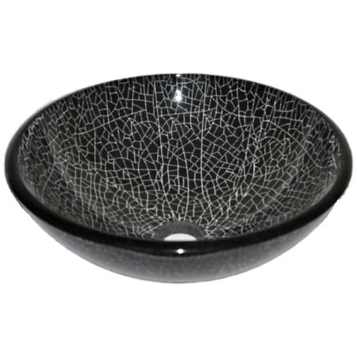 Novatto RAGNATELA Glass Vessel Bathroom Sink 60%OFF