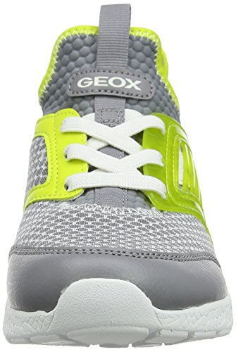 Sveth Niños Zapatillas grey lime A Para Gris J Geox XytxqcWX5
