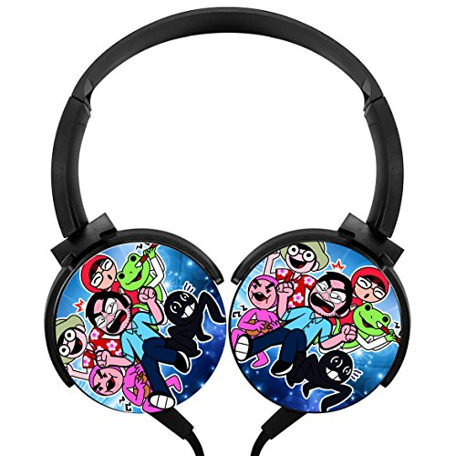 Wired Stereo Headphone Portable Headphone YESYOU Filthy Frank Concert