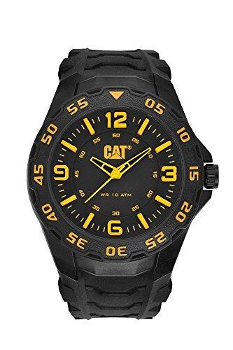CAT WATCHES Men's LB11121137 Motion Analog Display Quartz Black Watch