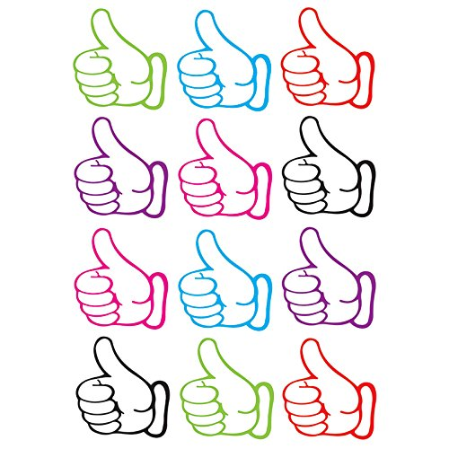 Ashley Productions Thumbs Up Die-Cut Magnets (12 Piece), 8.25''x 11.75'' by Ashley Productions