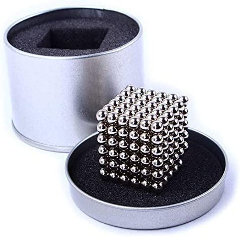 CPSYUB 5MM 216 Pieces Magnetic Building Sculpture Stress Relief Magnetic Balls for Intelligence Development Magnets Office Desk Toy for Adults