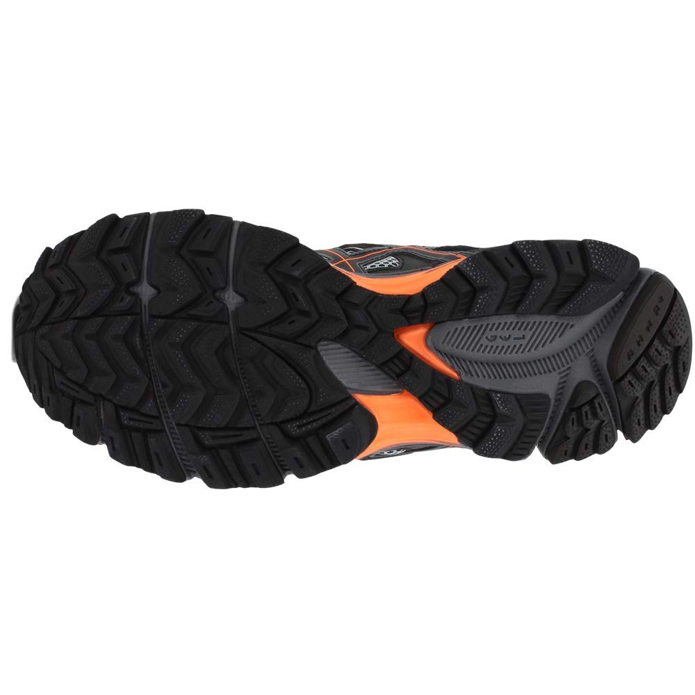 ASICS Mens Gel-Kahana 8 Running Shoe Black/Hot Orange/Carbon 6.5 Medium US by ASICS (Image #7)