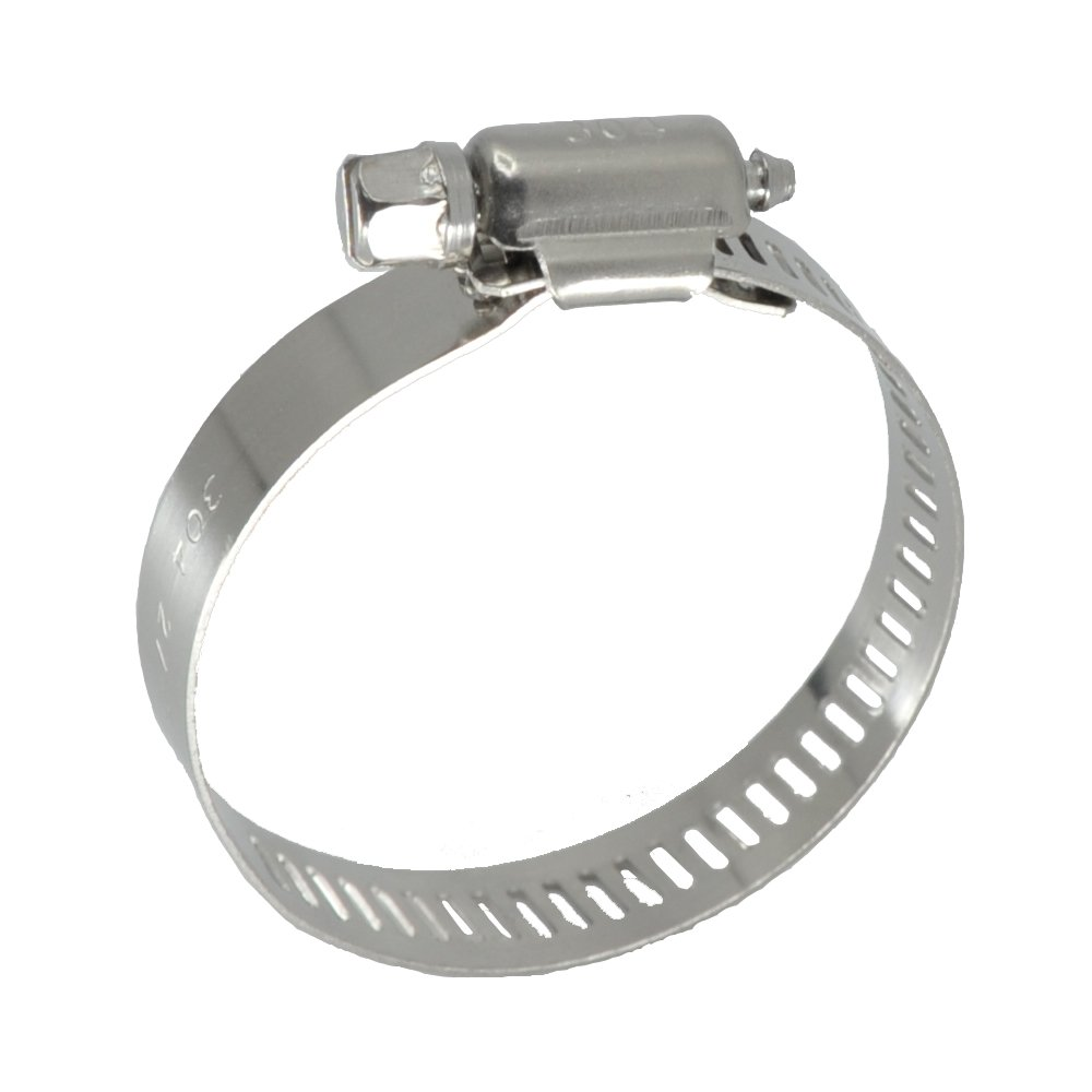 pack of 10 SAE 36 1 13//16-2 3//4 Worm-Drive Hose Clamps