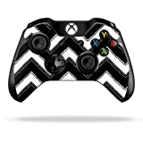Cheap Protective Vinyl Skin Decal Cover for Microsoft Xbox One/One S Controller wrap sticker skins Chevron Style