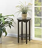 Convenience Concepts American Heritage Plant Stand, 24, Espresso