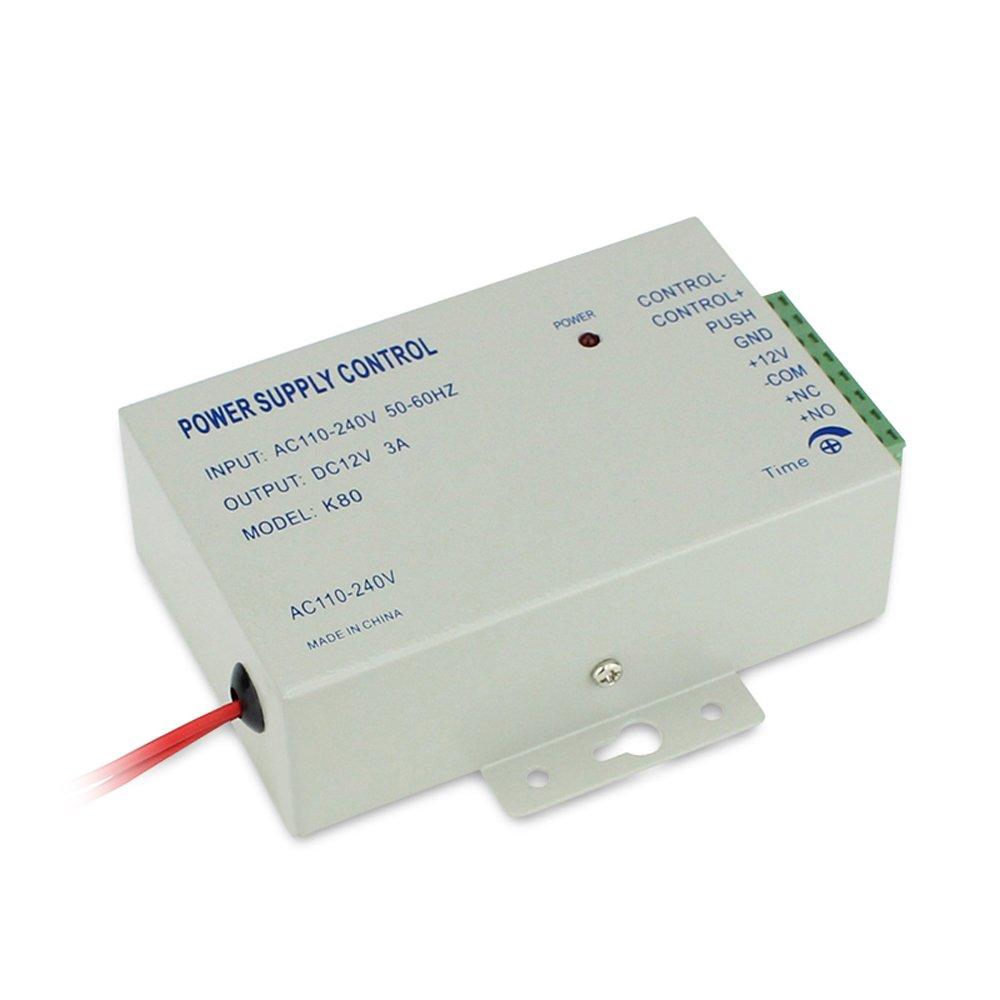 Amazon.com : Bio Sensor de movimiento de la huella digital y sistema de control de RFID + Entrada de contraseña de seguridad de acceso y salida + 600 libras ...