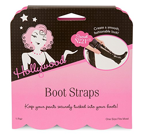 Hollywood Fashion Secrets Boot Straps, 1 pair