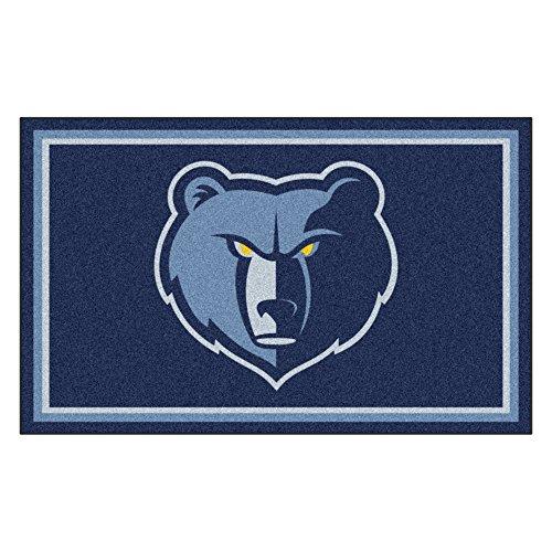 FANMATS 20432 NBA - Memphis Grizzlies 4'X6' Rug, Team Color, 44''x71'' by Fanmats
