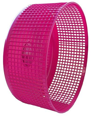 JYBL Sugar Glider Wheel, 12 inch Freedom Stealth Wheel; Pink with Cage Side Mount