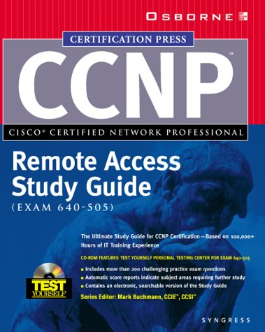 Read Online CCNP Remote Access Study Guide (Exam 640-505) ebook
