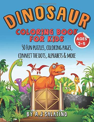 Fun Fact Dinosaur Dot-to-Dots | Education.com | 500x387