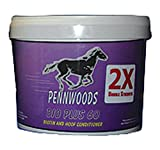 Pennwoods Equine PRODUCTS 120743 2X Bio Plus 60 Double Strength Horse Supplement, 4 lb