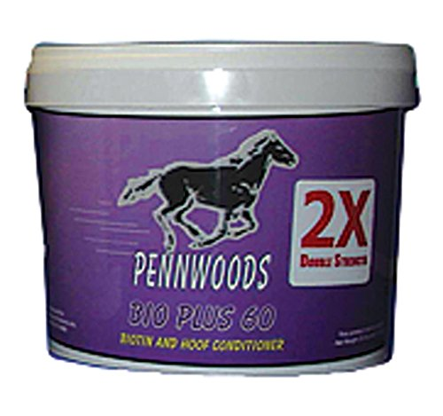 Pennwoods Equine Products 120743 2X Bio Plus 60 Double Strength Horse Supplement, 4 lb by Pennwoods Equine