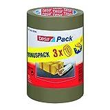 Tesa 57529-0000-01 Set of 3 Rolls of Polypropylene Adhesive Tape 66 x 50 mm by tesa UK