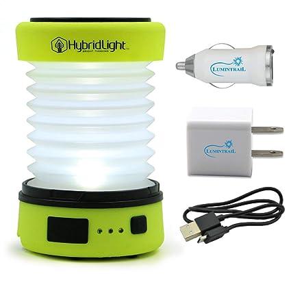 Amazon.com: Linterna solar recargable y ampliable con ...