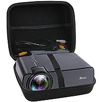 Hard EVA Travel Case for RAGU Z400 1600 Lumens Mini Portable Projector by Hermitshell