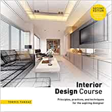Interior Design Course Principles Practices And Techniques For The Aspiring Designer Tangaz Tomris 9781438012407 Amazon Com Books