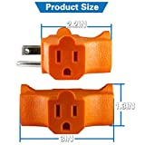 3-Outlet Grounding Adapter, Kasonic [UL