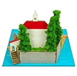 Sankei Studio Ghibli mini Porco Rosso Adriano and flying boat non-scale paper craft MP07-21