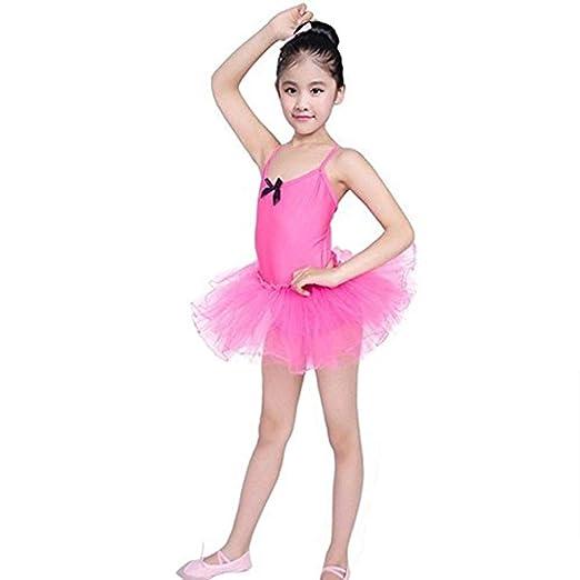 9bc4b50b6d00 Amazon.com: GIFC Girls Ballet Dress Cute Tutu Leotard Flutter ...