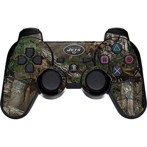 Skinit New York Jets Realtree Xtra Green Camo PS3 Dual Shock Wireless Controller Skin - Officially Licensed NFL Gaming Decal - Ultra Thin, Lightweight Vinyl Decal Protection