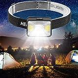 USB Charging Mini Headlamp Head Light Lamp Torches Flashlight Work Light for Outdoors Camping Fishing