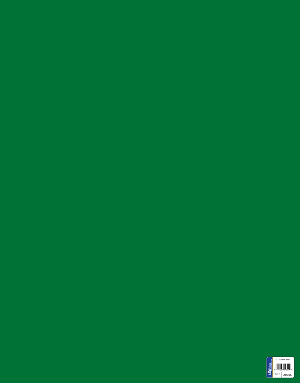 Royal Consumer Poster Board, Green, 22 x 28 Inches, Pack of 25 (24307B) : Ordinary Display Boards : Office Products