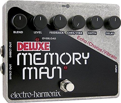 electro-harmonix 일렉트로 하모니쿠스 이펙터 아날로그 delay Deluxe Memory Man [국내 정규품]