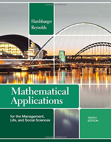 Mathematical Applications for the Management, Life, and Social Sciences (Textbooks Available with...