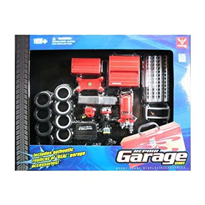 Hobby Gear Repair Garage Set: Toys & Games