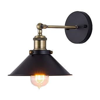 Pour Réglable Applique Eclairage Café Lampes Loft Appliques Jour Industriel E27 Abat Edition Rétro Decoratif Industrielle Maison Murale Luminaire wN8nOvm0