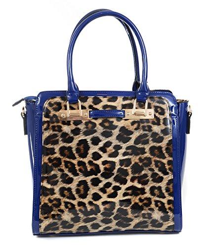 Leopard-Patent-Leather-Retro-Inspired-Satchel-Handbag-Purse