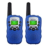 Proster Kids Walkie Talkies 22 Channels LCD Toy Walky Talky Wireless Two-Way Radios for Family Activities Children's Day Christmas Thanksgiving-Day Gift