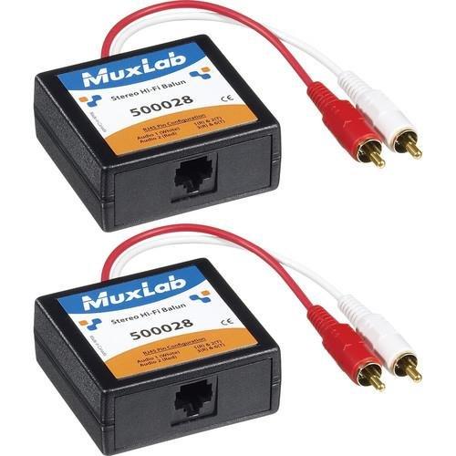 Muxlab Stereo Hi-Fi Balun 2PK 500028-2PK ()