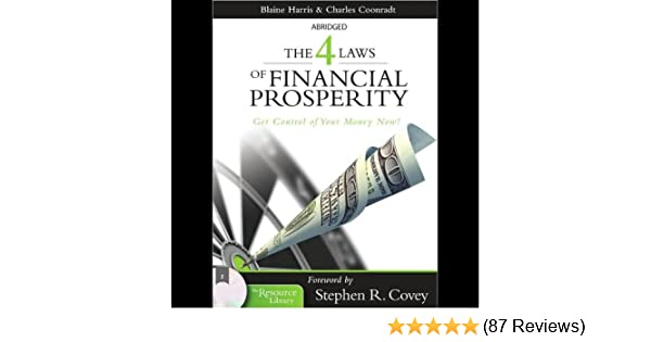 Amazon The 4 Laws Of Financial Prosperity Get Control Of Your