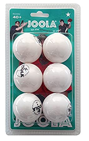 Joola Tt Ball - Pelota de ping pong, color blanco: Amazon.es ...