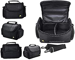 Xit Compact Camera Carrying Case for Fujifilm Finepix S4700 S4600 S4500 S4530 S4400 S4200 S4080 S4050HD S3400 S3300 S3280 S3200 S3100 S3000 S2900 S2750 S2600 S2000 S1600 S1000fd SL1000 SL305 SL300 SL280 SL260 SL240 SL28 X100 X100S X-PRO1