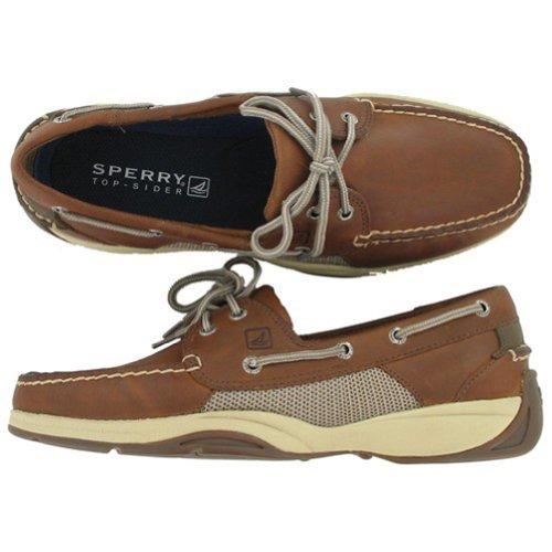 Men's Sperry, Intrepid 2 eye boat shoe WICKER 9.5 W Eyelet Mens Shoe