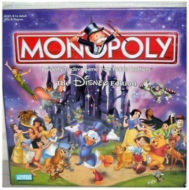 Hasbro The Disney Edition Monopoly Board Game 2001 by: Amazon.es: Juguetes y juegos