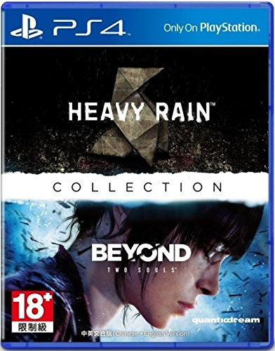 PS4 THE HEAVY RAIN AND BEYOND: TWO SOULS COLLECTION (CHINESE & ENGLISH SUBS) (ASIA) (Heavy Rain And Beyond Two Souls Ps4)