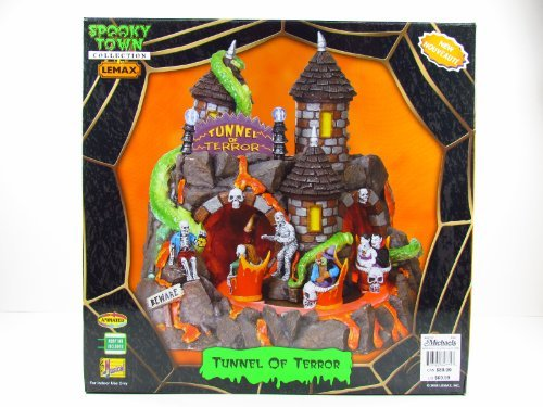 Lemax Halloween Spooky Town Village Tunnel Of Terror #84771