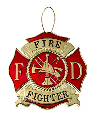 Allied Products Firefighter Heroes Series Holiday Ornament