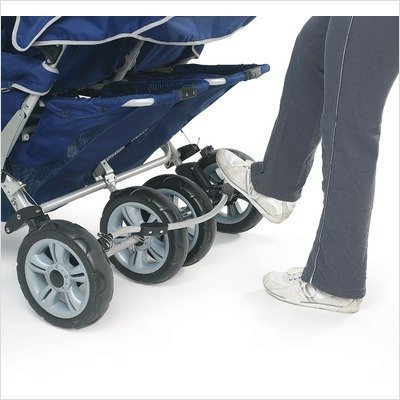 Angeles Infant Toddler SureStop Folding Commercial Bye-Bye Stroller (4-Passenger) by Angeles (Image #2)