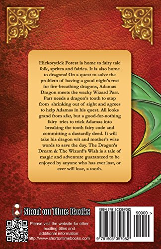 The Dragon's Dream & The Wizard's Wish (Adamas of Hickorytick Forest) (Volume 1)