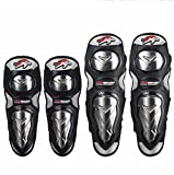 Kneepad Elbow Protection Elbow Stainless Steel Riding A Four-Piece Protective Equipment