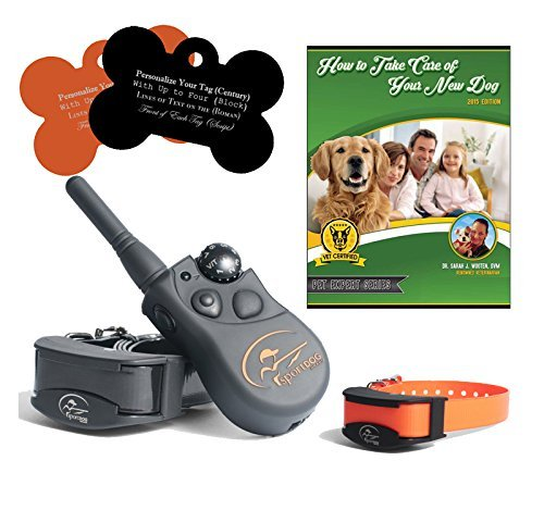 SportDOG SD-425 500 Yard Remote Dog Trainer with Free E-Book and Customized Bone Shaped Dog Tags (2 Dog System) by SportDOG Brand (Image #1)