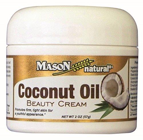 Mason Natural Coconut Oil Beauty Cream 2 oz