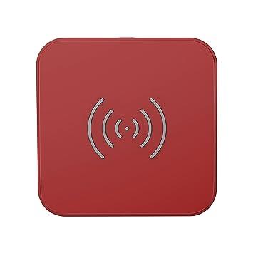 CHOETECH Cargador Inalámbrico Estándar Wireless Charger por Inducción 5W Qi Cargador para iPhone X/8 Plus/XS/XS MAX/XR, Samsung S10/S10e/Note9/S8 ...