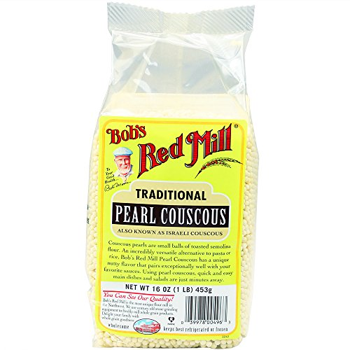 Bob's Red Mill Natural Pearl Couscous, 16 Ounce (Pack of 4)